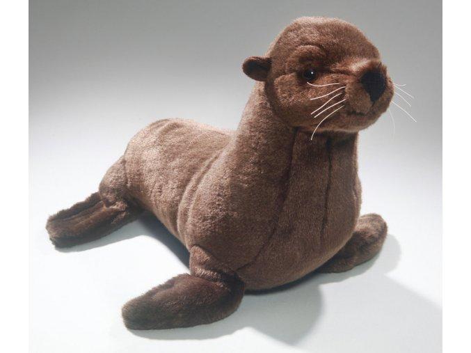 Plüss oroszlánfóka 40 cm - plüss játékok