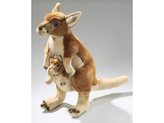 Plüss kenguru 45 cm - plüss játékok