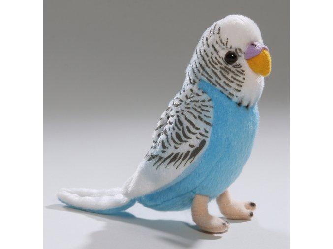 Plüss papagáj 14 cm - plüss játékok