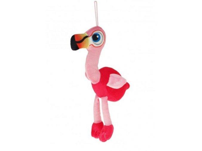 Plüss flamingó 20 cm - plüss játékok