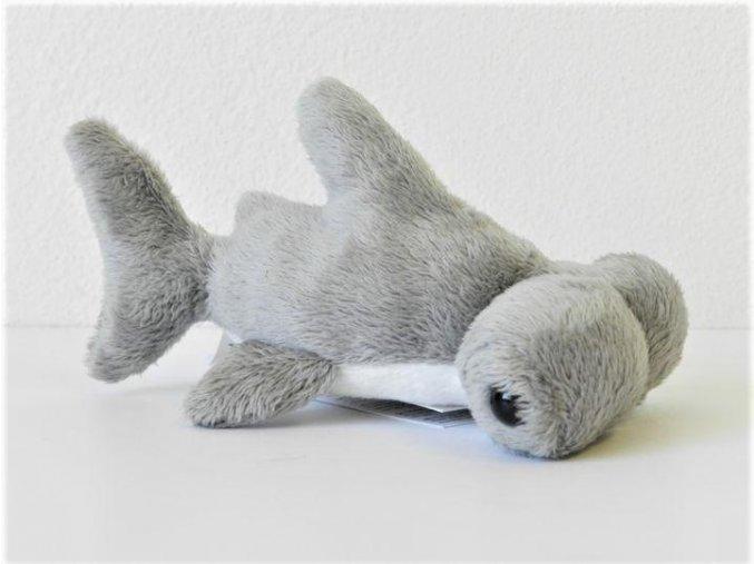 Plüss cápa 13 cm - plüss játékok