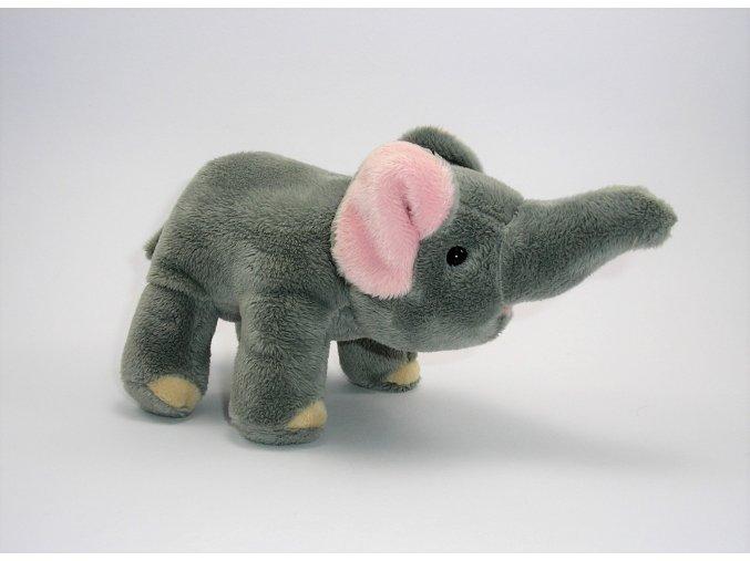 Plüss elefánt 17 cm - plüss játékok