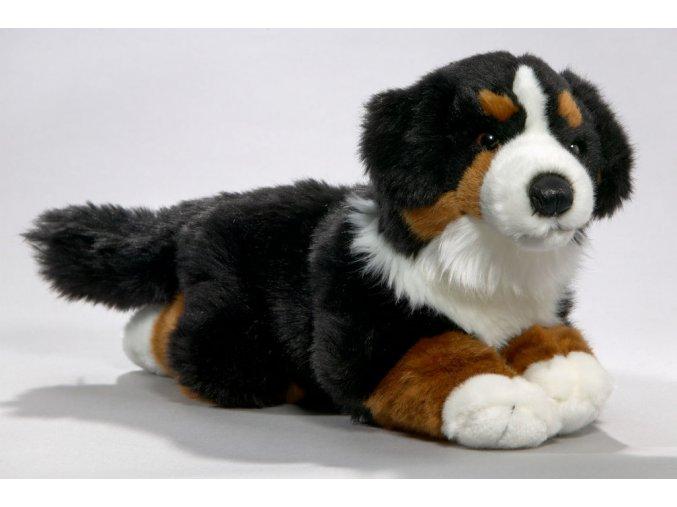 Plüss kutya - berni pásztor 40 cm - plüss játékok