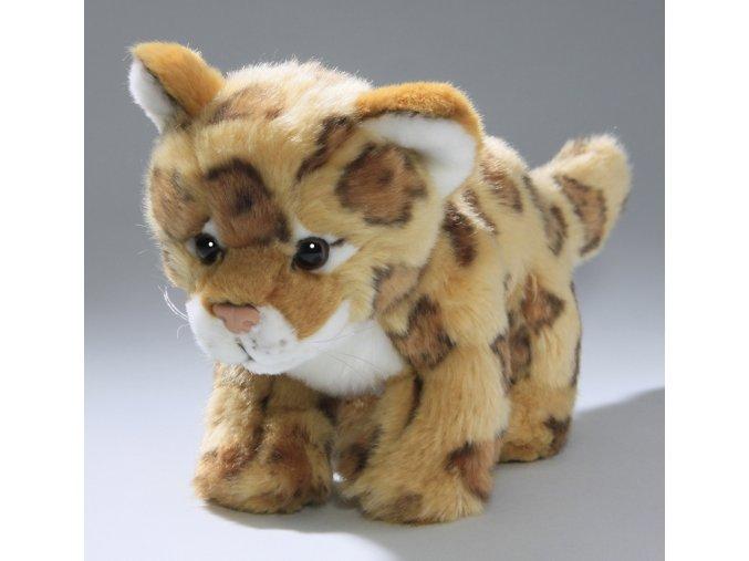 Plüss leopárd 23 cm - plüss játékok