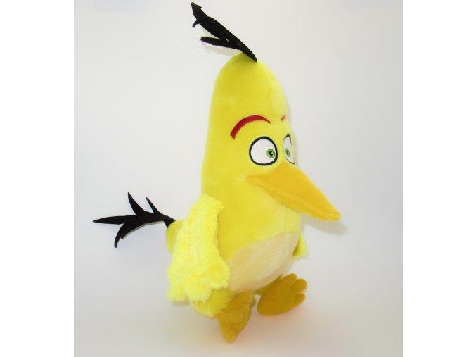 Plüss Angry Birds figura, Sárga 26 cm
