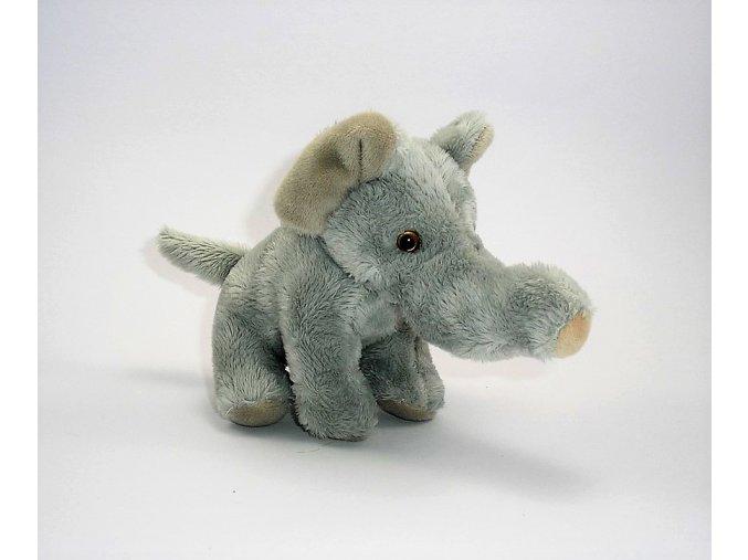 Plüss elefánt 13 cm - plüss játékok