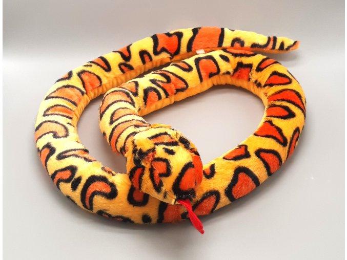 Plüss kígyó 168 cm - plüss játékok