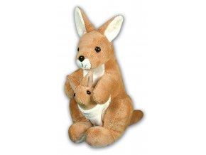 Plüss kenguru 28 cm - plüss játékok