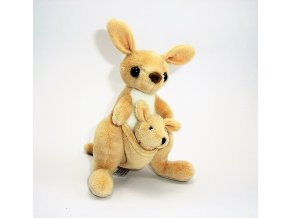 Plüss kenguru 15 cm - plüss játékok