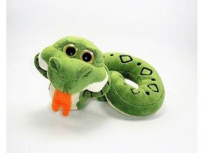 Plüss kígyó 45 cm - plüss játékok