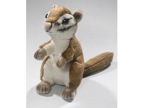 Plüss mókus 17 cm - plüss játékok