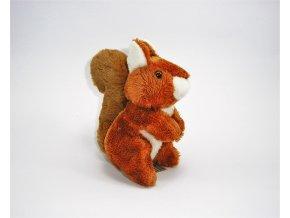 Plüss mókus 15 cm - plüss játékok