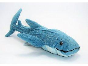 Plüss cápa 34 cm - plüss játékok