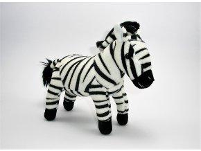 Plüss zebra 25 cm - plüss játékok