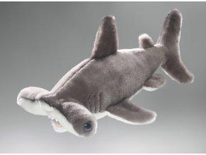 Plüss cápa 35 cm - plüss játékok