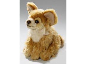 Plüss kutya - chihuahua 16 cm - plüss játékok