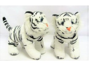 Plüss tigris 19 cm - plüss játékok