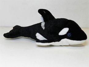 Plüss bálna 26 cm - plüss játékok