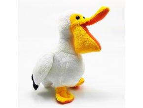 Plüss pelikán 17 cm - plüss játékok