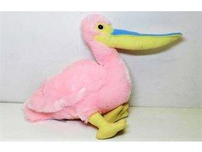 Plüss pelikán 34 cm - plüss játékok