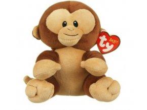 Ty plüss Baby Ty BANANA 15 cm - majom