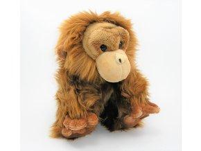 Plüss orángután 28 cm - plüss játékok