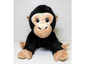 Plüss majom csimpánz 28 cm - plüss játékok
