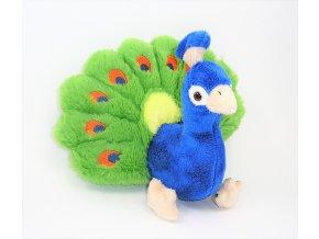 Plüss páva 15 cm - plüss játékok