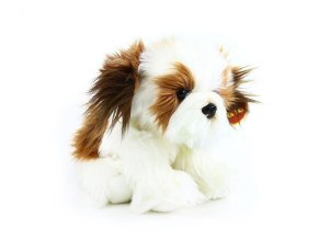 Plüss kutya Shih-tzu 28 cm - plüss játékok