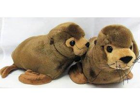 Plüss oroszlánfóka 27 cm - plüss játékok