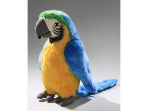 Plüss papagáj 30 cm - plüss játékok