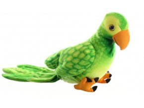 Plüss papagáj 36 cm - plüss játékok