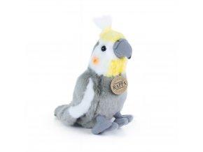Plüss papagáj 20 cm - plüss játékok