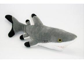 Plüss cápa 30 cm - plüss játékok