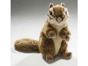 Plüss mókus 16 cm - plüss játékok