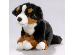 Plüss kutya - berni pásztor 18 cm - plüss játékok