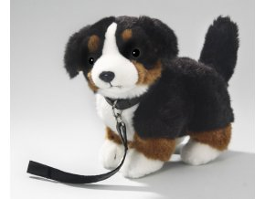 Plüss kutya - berni pásztor 25 cm - plüss játékok