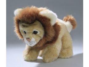 Plüss oroszlán 23 cm - plüss játékok