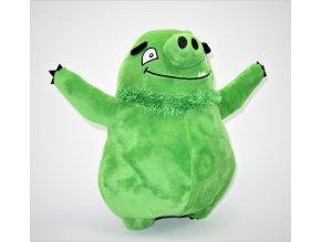 Plüss Angry Birds figura, Zöld 26 cm