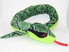 Plüss kígyó 130 cm - plüss játékok