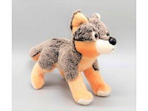 Plüss farkas 21 cm - plüss játékok
