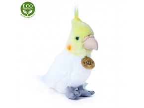 Plüss papagáj 18 cm - plüss játékok