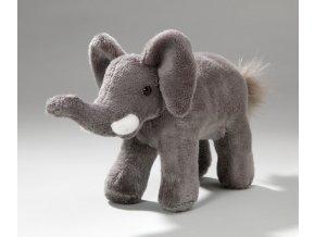 Plüss elefánt 15 cm - plüss játékok