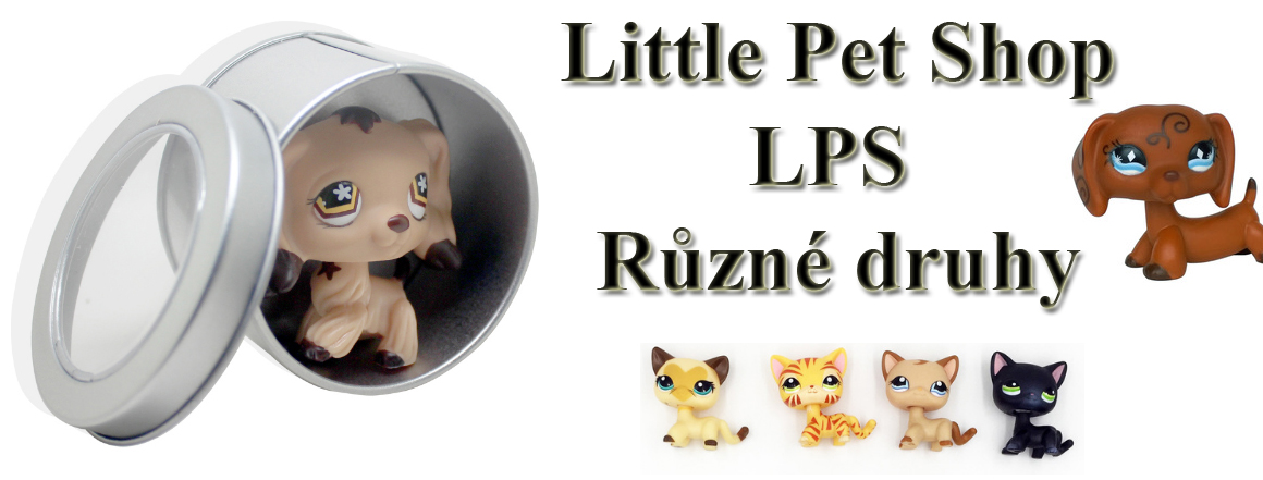 Little Pet Shop - více drhů