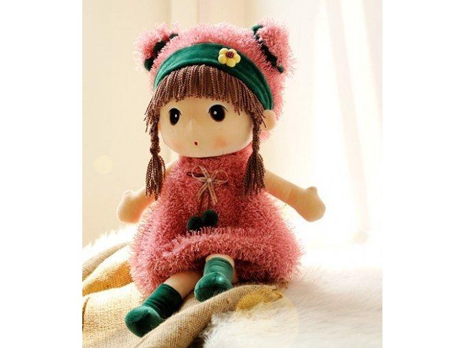 Plyšová panenka Mayfair růžová 45 cm