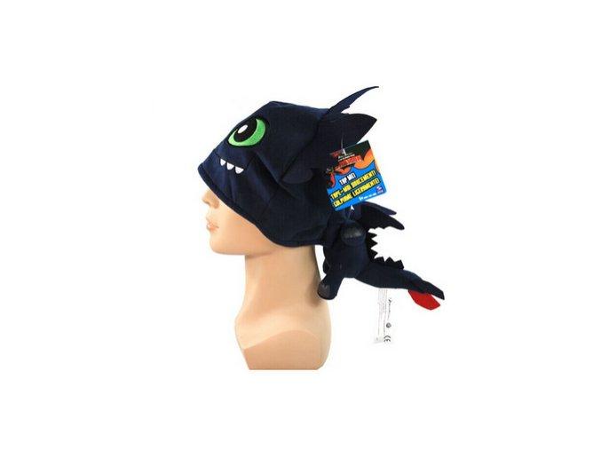 Bezzubka čepice z animované pohádky