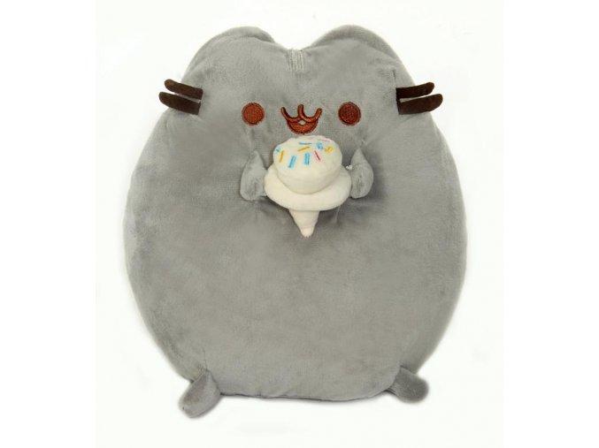 Plyšová kočička Pusheen se zmrzlinou 20cm