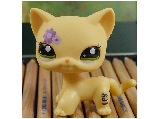 Littlest Pet Shop Kitty Květinková tvář 5 cm - LPS 1962