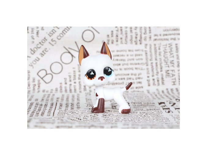 Littlest Pet Shop Velký bílý pes 5 cm - LPS 577