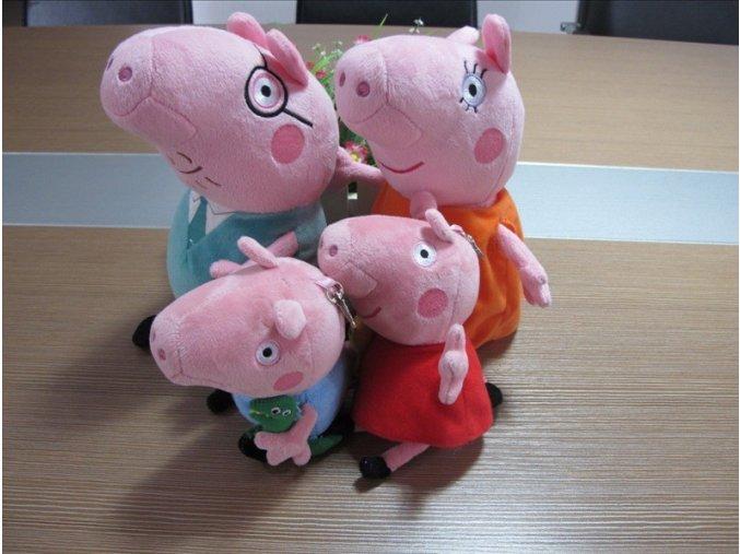 Prasátko Peppa - Pig rodinka 4 ks